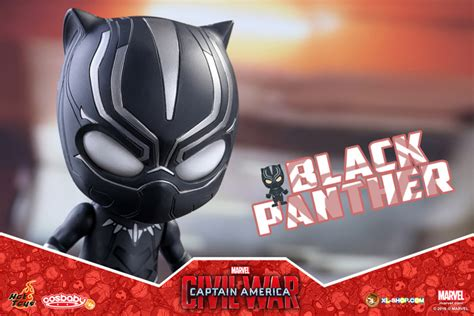 Figure Cosb Aby Cosb 253 Captain America Civil War Black Panther toys cosb253 captain america civil war black panther cosbaby bobble