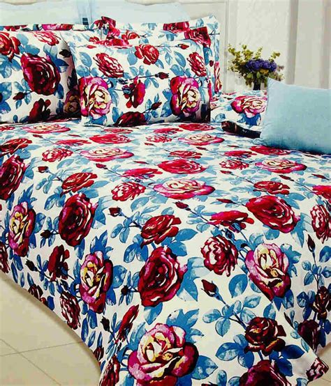 where to buy rose petals for bed rose petal cotton floral double bedsheet with 2 pillow