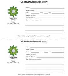 Tax Deductible Receipt Template Child Care Tax Receipt Donation Template