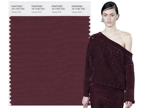 fall 2017 pantone colors pantone s top 10 fall 2017 colors from new york fashion