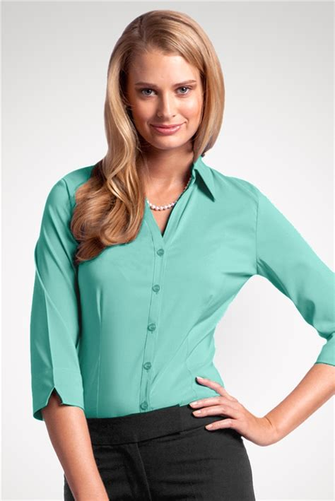 Blouse Tifany blouse tq coolstretch blue