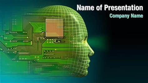 Artificial Intelligence Brain Powerpoint Templates Ai Ppt Templates Free