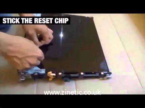 reset oki fuser how to replace transfer belt unit and transfer roller o