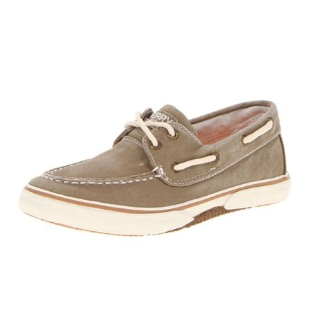 kid boat shoes sperry top sider halyard boat shoe kid big kid