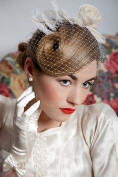 Vintage Bridal Hair Tutorial by 1000 Images About Vintage Wedding Hair On
