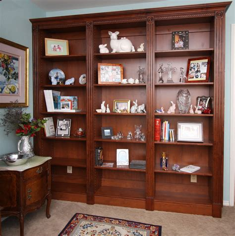 Bookcase Headboard Full Custom Home Media Center Designs Classy Closets
