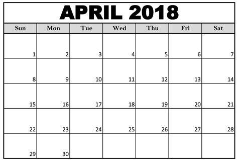 april si鑒e social free 5 april 2018 calendar printable template source