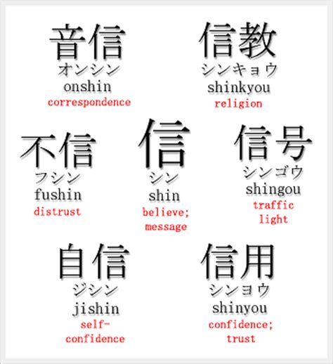 Kaos Trust No One Japanese believe kanji