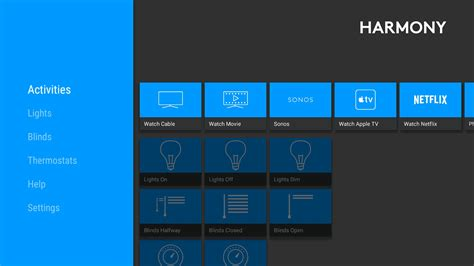 logitech app logitech s harmony app brings smart home to android tv