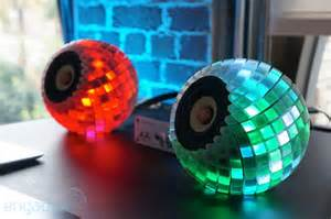 custom 3d printed speakers give you an audioreactive led