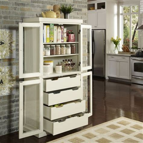 Home Styles Nantucket Pantry by Home Styles 5022 64 Nantucket Distressed China Pantry In White