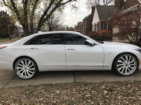 Cadillac Xts On 24s by Cadillac Ct6 On 24 S Cars Cadillac Ct6
