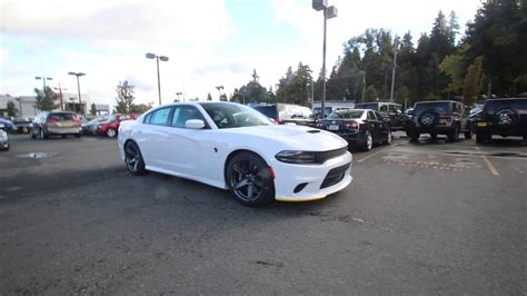 hellcat jeep white 2018 dodge charger srt hellcat white knuckle clear coat
