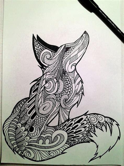 tattoo mandala fox mandala fox by kogatanani on deviantart