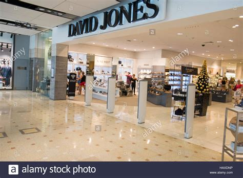 entrance to david jones department store in sydney