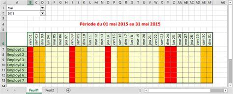 Calendrier Automatique Excel G 233 Rer Les Semaines Et Jours Ouvr 233 S Dans Excel Facilement
