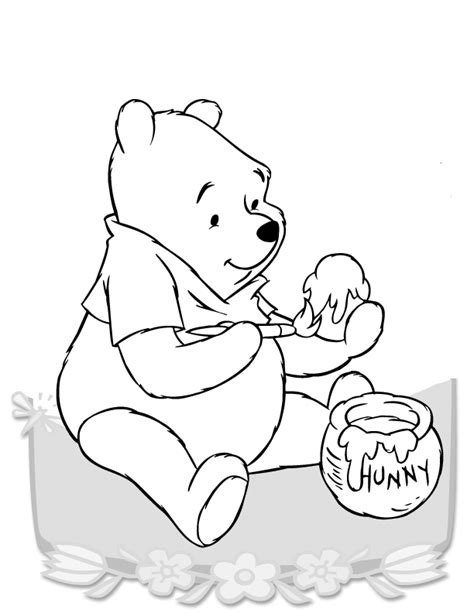imagenes de winnie pooh a blanco y negro imagenes de dibujos en blanco y negro de guini de pooh