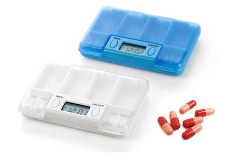 Alarm Hc 4 alarms pill timer reminder pill box timer medication reminder alarm hc 7000b free shipping