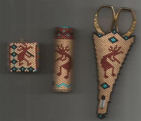 beaded needle cases craftsayings view topic shilo s beaded scissor and
