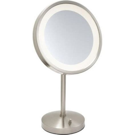 Jerdon Deluxe 5x Lighted Makeup Mirror by Jerdon 5x Led Halo Lighted Vanity Mirror