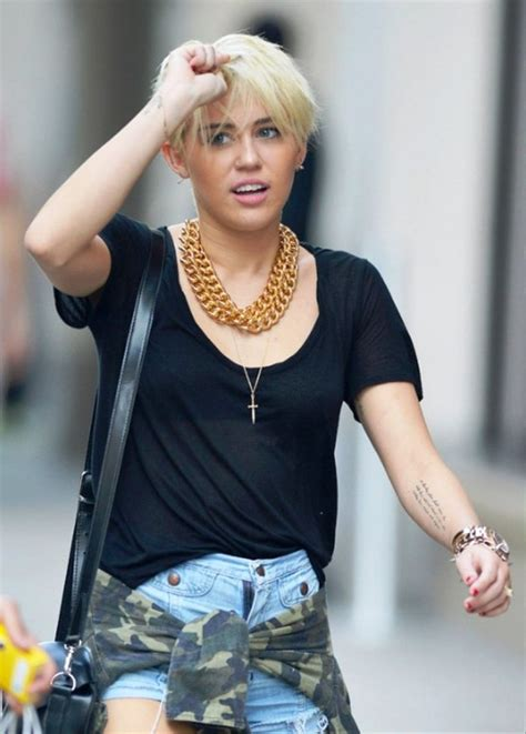Miley Cyrus New Hairstyle by Miley Cyrus New Hairstyle Behairstyles