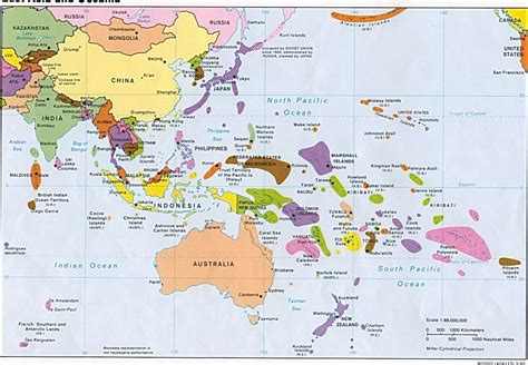 east asia and southeast asia map southeast asia and the south pacific map