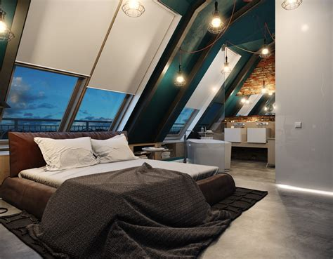 cool attic 5 houses that put a modern twist on exposed brick