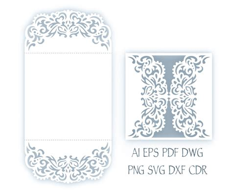 free card templates for cricut svg wedding invitation 5x5 gate fold card template