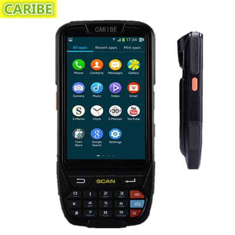 mobile scanner android best caribe pl 40lac054 mobile android 2d handheld barcode