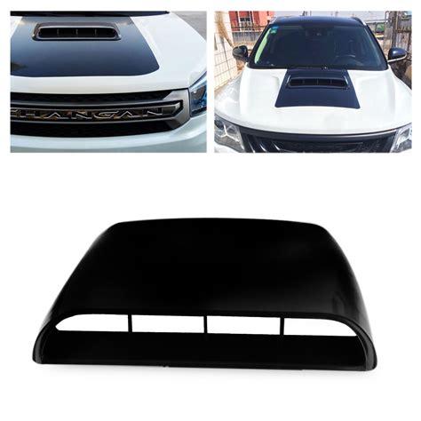 Air Scoop Air Flow Universal universal black car decorative air flow intake scoop