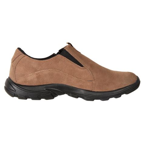 comfort shoes denver airwalk men s comfort leather suede slip on casual shoe