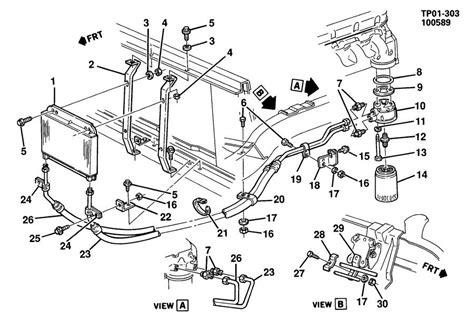 chevy 350 5 7 vortec engine diagram chevy get free image