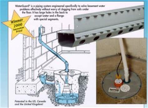 basement water system delaware waterguard basement waterproofing system dover newark de salisbury city md