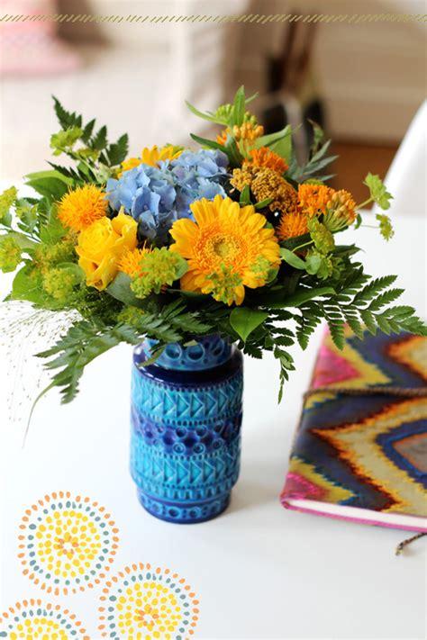 Vas Kaca Capodimonte Motif Bunga dekorasi cantik dengan motif bunga hiasanrumah