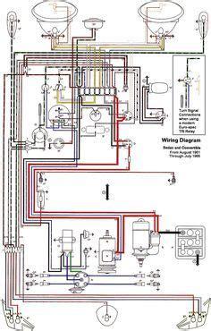vw beetle wiring diagram articles  beetlecom vw beetles beetle volkswagen