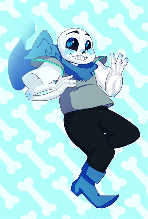 underswap sans by milsoms on deviantart blueberry sans