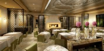 fresh and luxury restaurant interior design of hotel bel