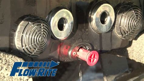 how to make a boat drain plug flow rite remote drain plug youtube