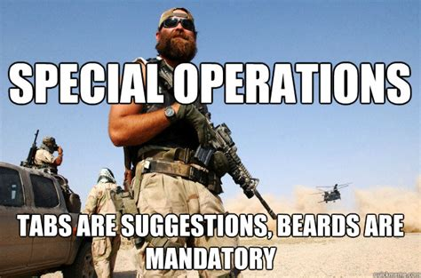 Special Forces Meme - special forces beard memes quickmeme
