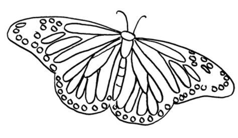 imagenes de mariposas monarcas para colorear dibujos de mariposas 187 mariposapedia