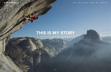 Squarespace Free Climber Take Brand Ad To New Heights Psfk Squarespace Alex Template