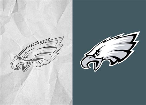 philadelphia eagles logo eps vectorize images
