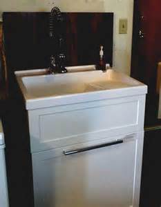 Laundry Room Utility Sink With Cabinet Enchanting Darkolivegreen Utility Room Ideas Cabinets Furniture Laundry Sink Cabinet Design