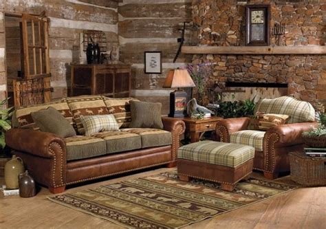 home interior furniture log home decorating