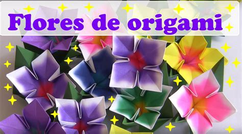 Flor De Origami - flor 4 p 201 talas de origami