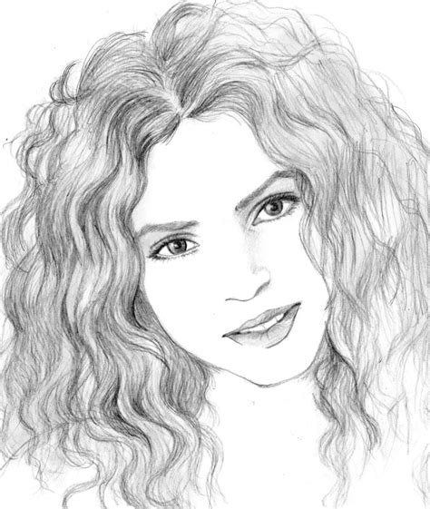 shakira drawing shakira drawing newhairstylesformen2014 com