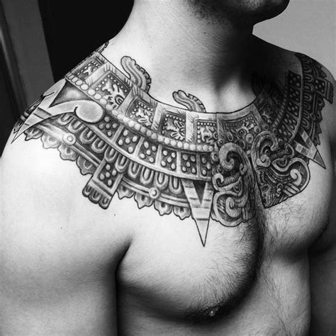 aztec chest tattoos 60 inspiring aztec tattoos ideas