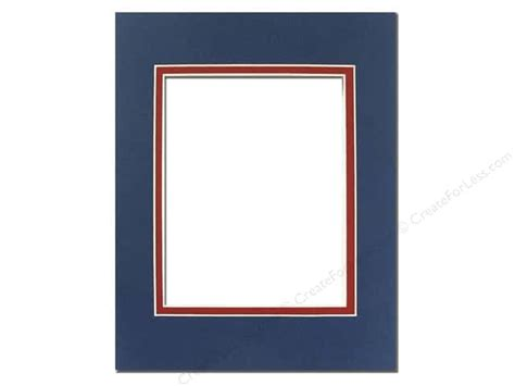 Photo Mat Board by Pre Cut Photo Mat Board 11 X 14 In Bottle Blue Createforless