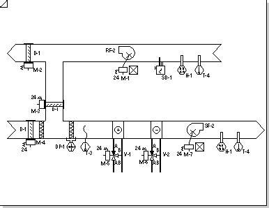 create an hvac logic diagram visio