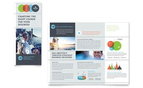 business tri fold brochure templates business analyst tri fold brochure template design